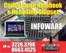 Reballing Chipset de Notebook 3226-3798 fortaleza